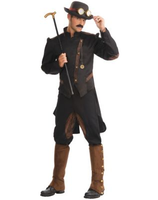 Men's Steampunk Jackets, Coats & Suits Adult Gentleman Steampunk Costume $49.99 AT vintagedancer.com