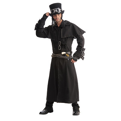 Victorian Steampunk Clothing & Costumes for Ladies Adult Duster Steampunk Costume $49.99 AT vintagedancer.com