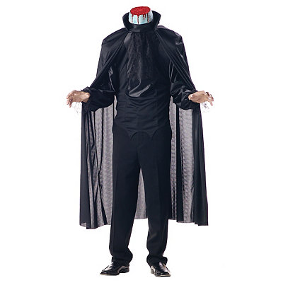 Edwardian Men's Clothing Adult Headless Horseman Costume $39.99 AT vintagedancer.com