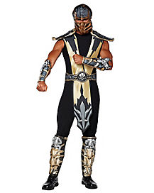 adult scorpion costume mortal kombat