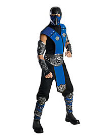 adult sub zero costume mortal kombat - Mortal Kombat Smoke Halloween Costume