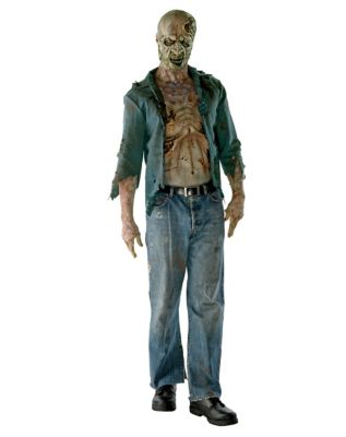 Walking Dead Decomposed Zombie Adult Mens Costume