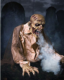 Gaseous Fog Zombie Animatronic - Decoration