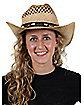 Western Straw Adult Hat
