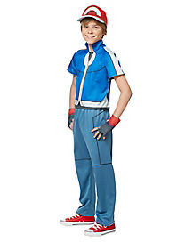 Kids Ash Costume Deluxe - Pokemon
