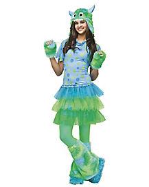 Teen Miss Monster Costume