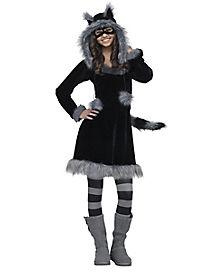 Tween Sweet Raccoon Costume