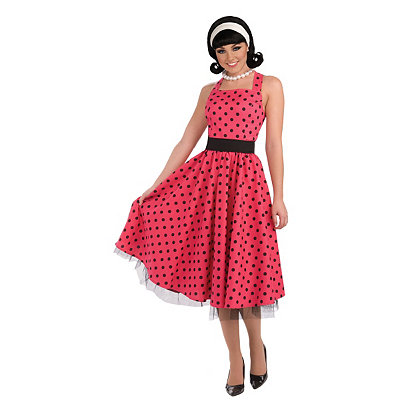 Pin Up Dresses | Pin Up Clothing Adult 50s House Wife Costume $39.99 AT vintagedancer.com