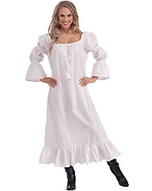 Adult Medieval Lace Chemise Costume