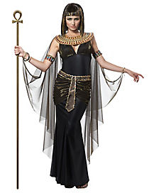Adult Black Cleopatra Costume