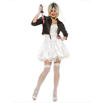 Adult Tiffany Costume - Bride of Chucky