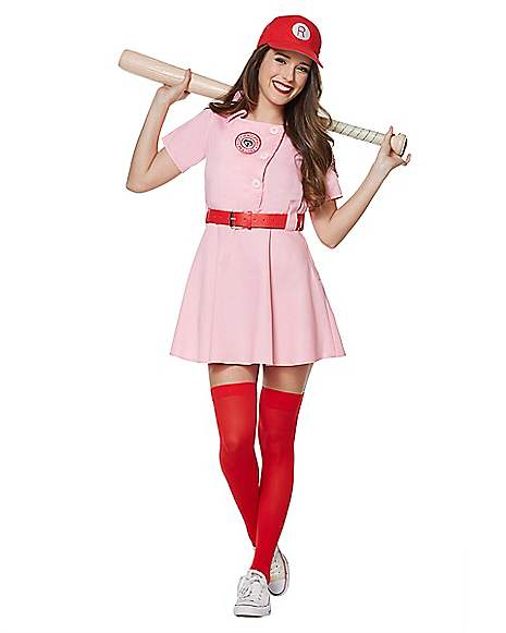 Adult Rockford Peaches Costume - A League of Their Own  sc 1 st  Spirit Halloween & Adult Rockford Peaches Costume - A League of Their Own ...