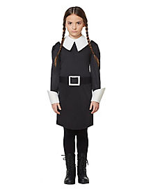 Kids Wednesday Addams Costume - Addams Family