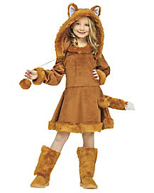 Kids Sweet Fox Costume