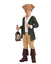 Kids Paul Revere Costume