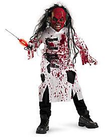 Kids Demented Doctor Costume