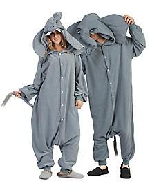 Adult Elephant Union Suit