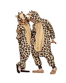 Adult Giraffe Pajama Costume
