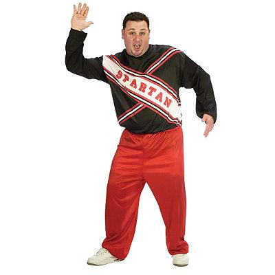 Vintage Men's Costumes – 1920s, 1930s, 1940s, 1950s, 1960s Adult Spartans Cheerleader Plus Size Costume - Saturday Night Live $39.99 AT vintagedancer.com