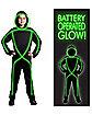 Glowman Boy's Teen Costume