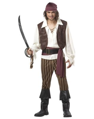 Menu0027s Ste&unk Clothing Costumes Fashion Mens Rogue Pirate Costume by Spirit Halloween $49.99 AT  sc 1 st  Vintage Dancer & Menu0027s Steampunk Clothing u0026 Costumes for Sale