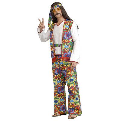 1960s Men's Costumes Adult Hippie Dippie Hippe Plus Size Costume $39.99 AT vintagedancer.com