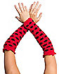 Ladybug Red & Black Arm Warmers