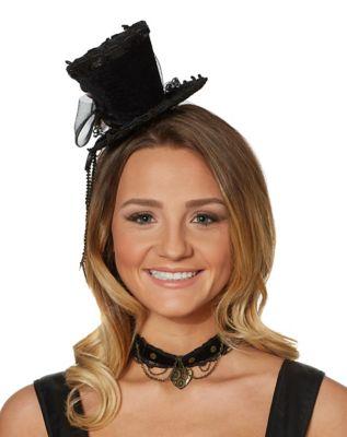 Steampunk Hats | Top Hats | Bowler Steampunk Hat by Spirit Halloween $14.99 AT vintagedancer.com