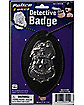 Jumbo Detective Badge on Chain