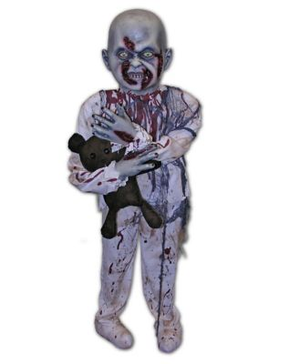 Little Boy Zombie Prop