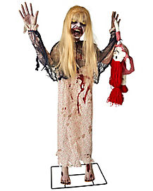 3 ft Little Girl Zombie Prop - Decorations