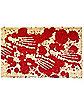 Bloody Feet Handwoven Doormat