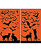 WOWindows Posters Cats 'n Bats Silhouettes