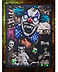 Light Up Creepy Clown Portrait - Decorations