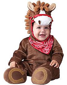 Baby Playful Pony One Piece Costume