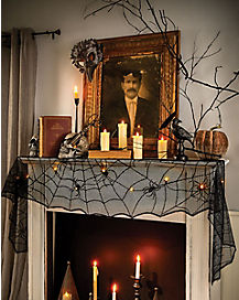 Spider Mantel Cover