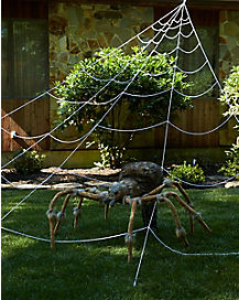 23 ft mega spider web decorations