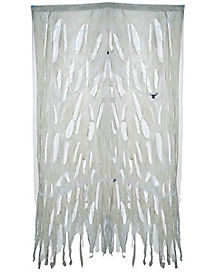 4 ft Creepy Web Curtain - Decorations