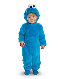 Toddler Light Up Cookie Monster One Piece Costume - Sesame Street