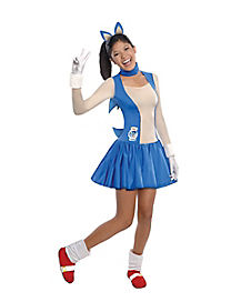 Teen Sonic Dress Costume - Sonic the Hedgehog