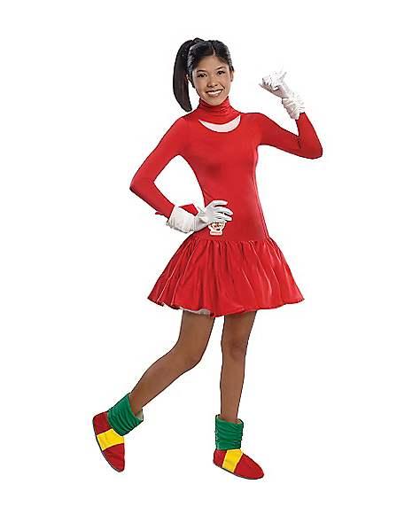 Teen Knuckles Dress Costume Sonic The Hedgehog