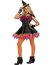 Teen Rockin' Witch Costume