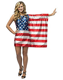 Tween USA Flag Costume