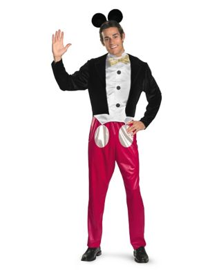 1950s Men's Clothing Mens Mickey Mouse Costume - Disney by Spirit Halloween $59.99 AT vintagedancer.com