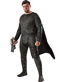 Adult General Zod Plus Size Costume Deluxe - Superman Man of Steel