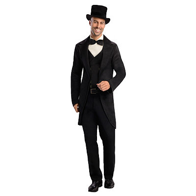 Edwardian Men's Formal Wear Adult Oscar Diggs Costume - Oz the Great and Powerful $49.99 AT vintagedancer.com