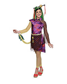 Kids Jinafire Long Costume - Monster High