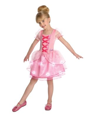 Kids Light Up Barbie Ballerina Costume