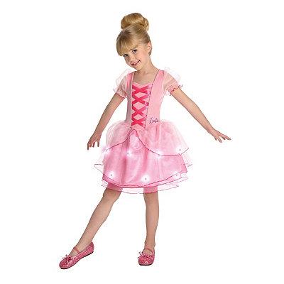 Kids Light Up Barbie Ballerina Costume