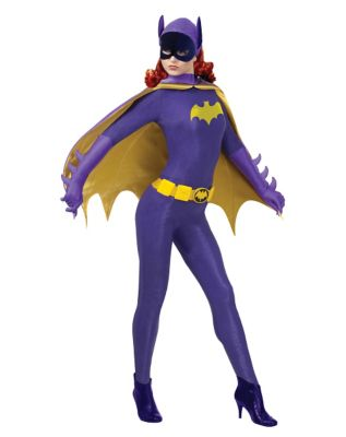 60s Costumes: Hippie, Go Go Dancer, Flower Child Adult TV Classic Batgirl Costume Theatrical - 1960s Batman by Spirit Halloween $139.99 AT vintagedancer.com